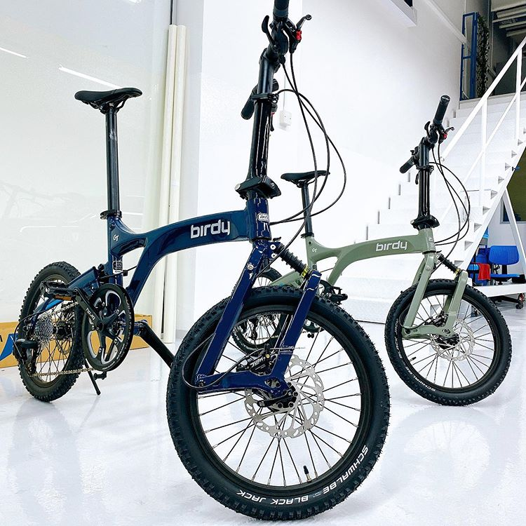 Birdy Bicycles wrapped with XPEL frame protection