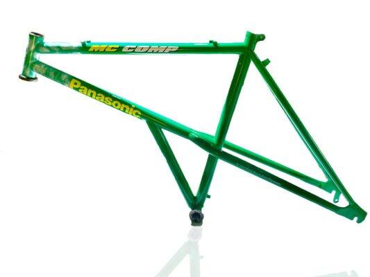 panasonic mountain cat vintage bike frame protection