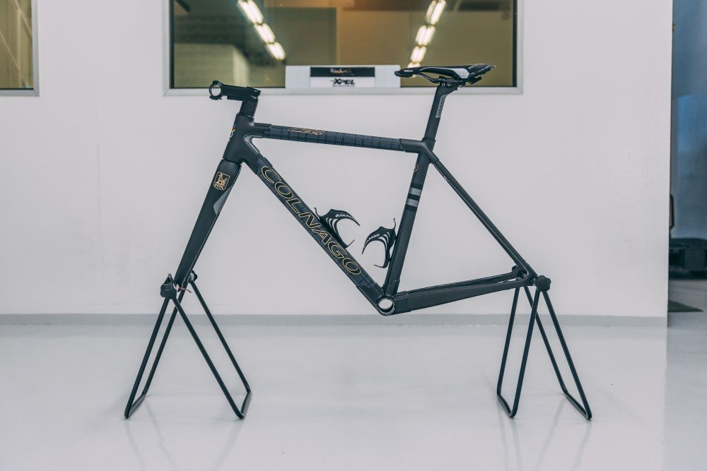 Colnago C64 Framekit Fox Brothers bicycle XPEL Stealth wrap