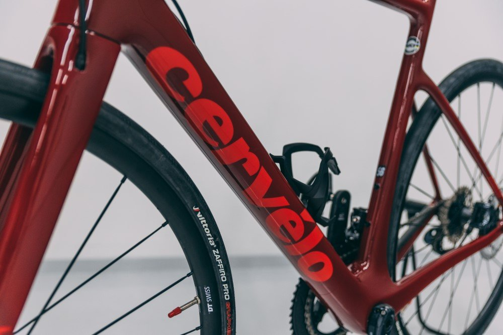 Cervelo Caledonia Paint Protection installation