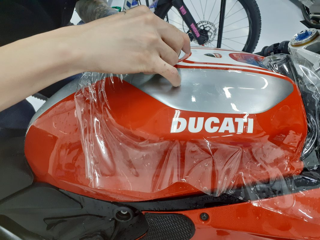 Ducati Corse Xpel Ultimate Plus paint protection