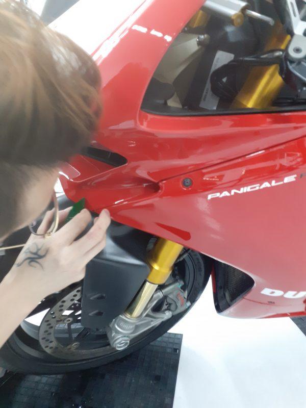 Ducati Corse Xpel film