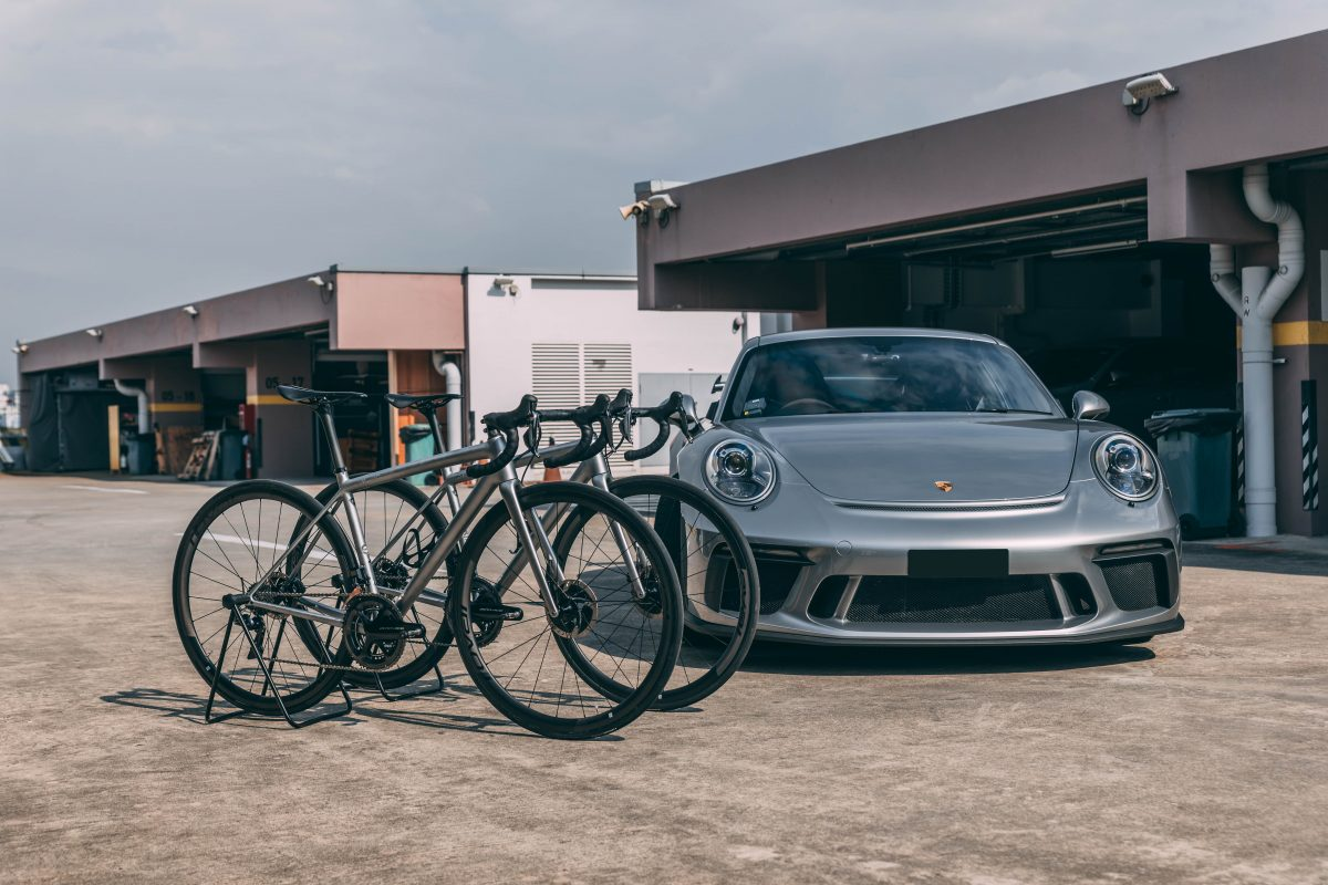 Xpel paint protection porsche and specialized aethos