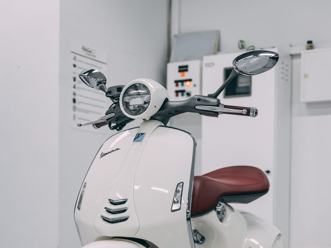 Vespa with Xpel paint protection film